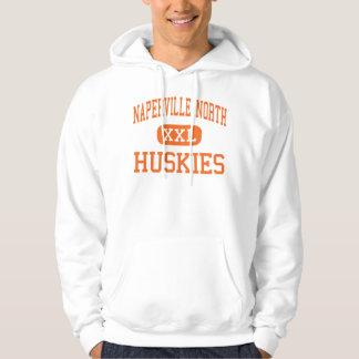Naperville norr - Huskies - kick - Naperville Hoodie
