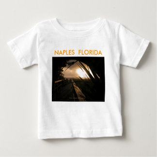 Naples solnedgång tee shirts