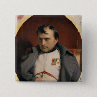 Napoleon i Fontainebleau, 1846 Standard Kanpp Fyrkantig 5.1 Cm