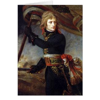 Napoleon på Arcole målade vid Antoine-Jean Gros Hälsningskort