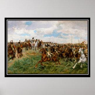 Napoleons strid av Friedland 1807 Poster