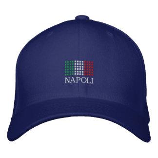 Napoli Italia lock - Naples italiensk flaggahatt Broderad Keps