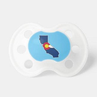 Nappar för Kalifornien Colorado flaggabebis