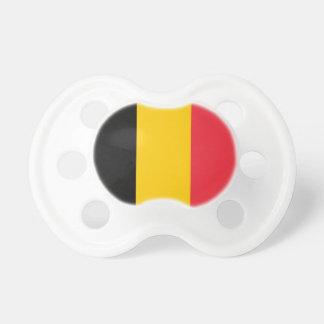 Nappar med flagga av Belgien