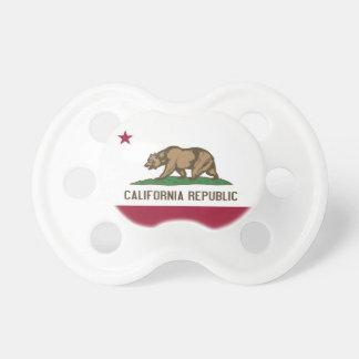 Nappar med flagga av Kalifornien, USA