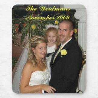 Når att ha gifta sig (48), WeidmansNovemberen 2009 Musmattor