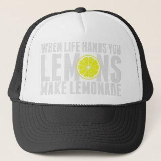 När De är levande, ge dig citronen Keps
