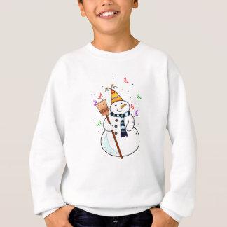 När du firar snögubben lurar tröjan t shirt