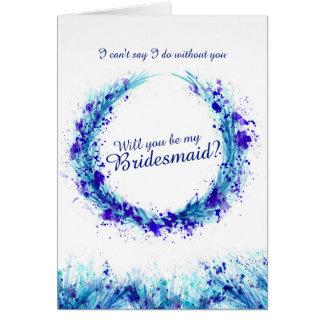 När du gifta sig blåttkonst ska dig är mitt OBS kort