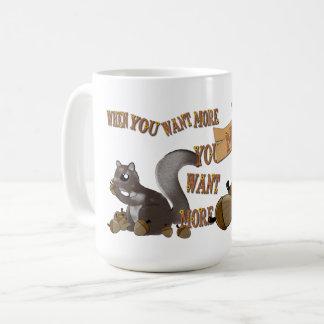 När du önskar mer, önskar du MER Kaffemugg