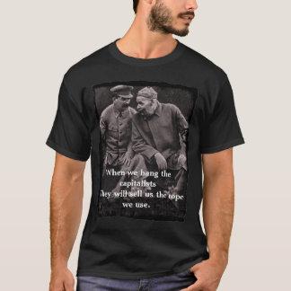 """""""När oss hängning T-skjorta för kapitalisterna"""" Tee Shirts"""