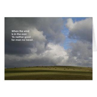 När vinden… hälsningskort