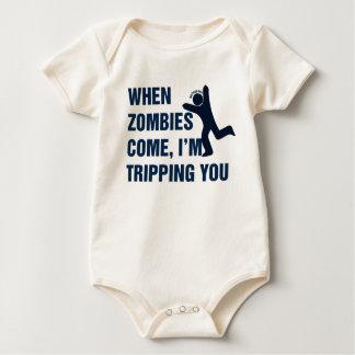 När Zombies kommer I-förmiddagen som snubblar dig Creeper
