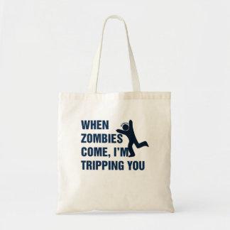 När Zombies kommer I-förmiddagen som snubblar dig Kassar