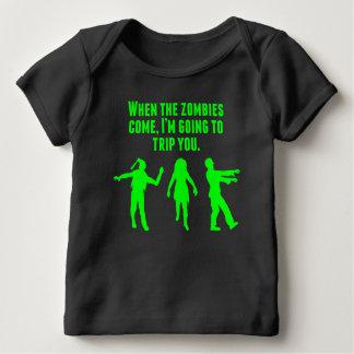 När Zombies kommer I-förmiddagen som snubblar dig Tee Shirts