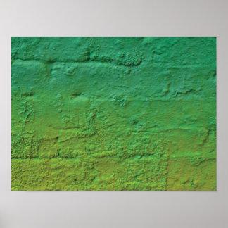 Nära övre för abstrakt modern grafittikonst poster