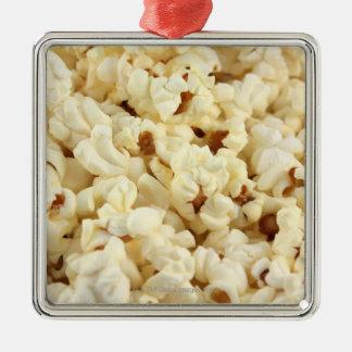 Nära övre för vanlig popcorn julgransprydnad metall