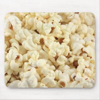 Nära övre för vanlig popcorn musmatta