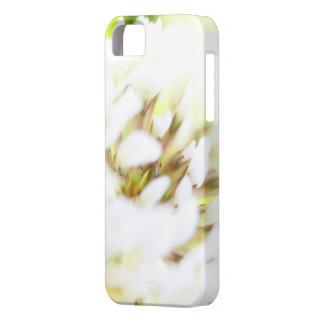 Nära övre vitblomma iPhone 5 Case-Mate skydd