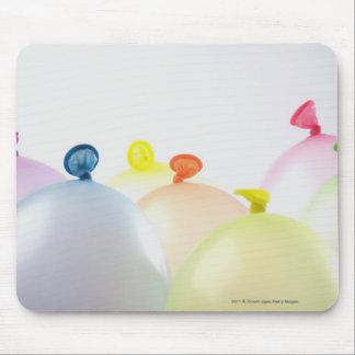 Närbild av ballonger musmatta