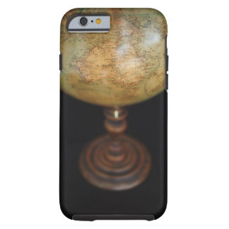 Närbild av det antika jordklotet tough iPhone 6 skal