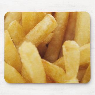 Närbild av pommes frites musmatta
