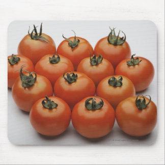 Närbild av tomater musmatta