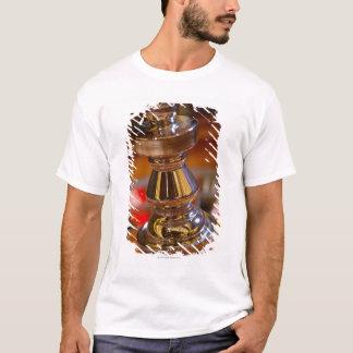 Närbilden av rouletten rullar tee shirt