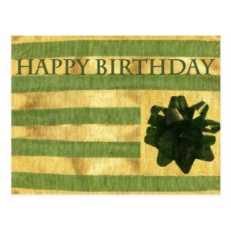 Närvarande vykort för födelsedag