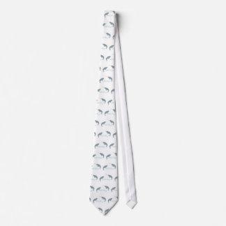 Narwhal kärlek slips