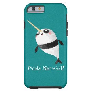 Narwhal och Panda i en Tough iPhone 6 Case