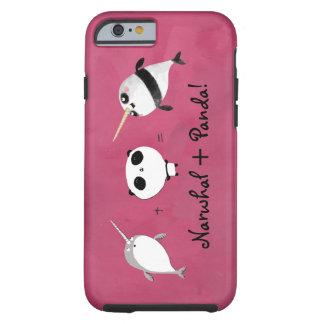 Narwhal plusPanda! Tough iPhone 6 Case
