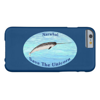 Narwhal - spara unicornen barely there iPhone 6 skal