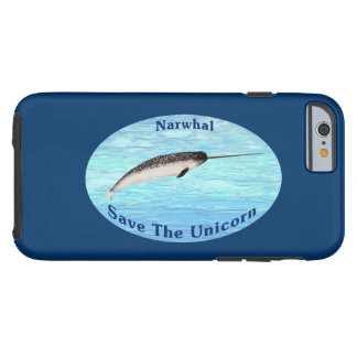Narwhal - spara unicornen tough iPhone 6 case