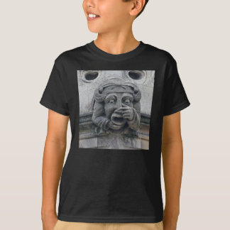 Näsa-och-mun gargoyleskjorta tröja