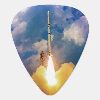 NASA spanar raketbarkassLiftoff Plektrum