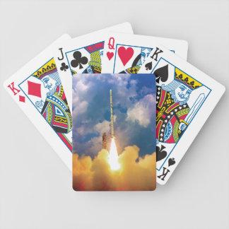 NASA spanar raketbarkassLiftoff Spelkort