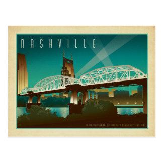 Nashville TN - Shelby St. överbryggar Vykort