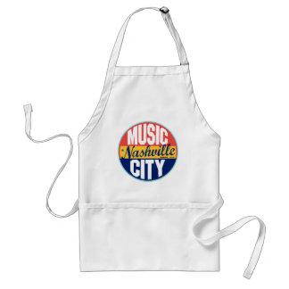 Nashville vintageetikett förkläde