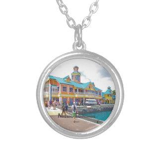 Nassau Bahamas Silverpläterat Halsband