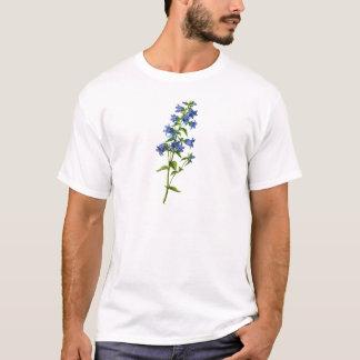 Nässla-Leaved blåklocka för blått som dras från T Shirt
