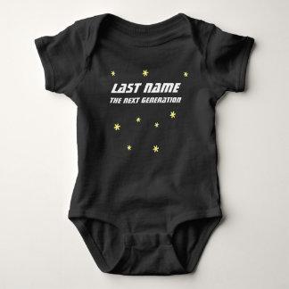 Nästa generationbabyjumper tee shirt