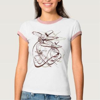 Nastaleeq sufi som virvlar dans D T-shirt
