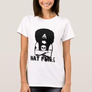Nat funks fula ansikte på en skjorta t shirt