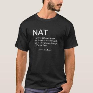 NAT - Knyta kontakt skjortan Tee
