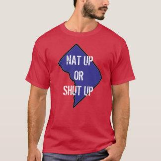 nat övre eller stängd upp karta t shirts
