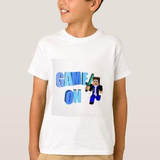 "Nater G8ter barn ""LEK PÅ"" utslagsplats-skjortan T-shirt"
