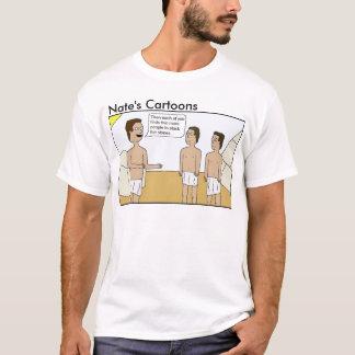 Nates skjorta för intrig för tecknadpyramid tröjor