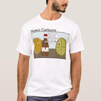Nates skjorta för tecknaddillande tee shirts