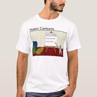 Nates skjorta för tecknadPinata T Shirt